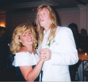 John dancing with Kathy Rice