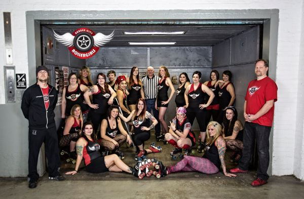 rubber city roller girls