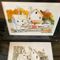 Hal Scroggy's watercolors depict Akron in times gone by