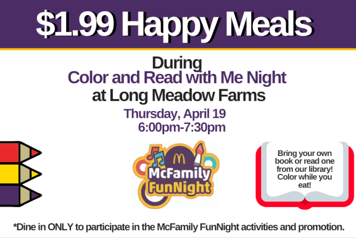 Color and Read with Me Night LMF