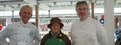 Tiverton Pannier Market with the Deli Chefs