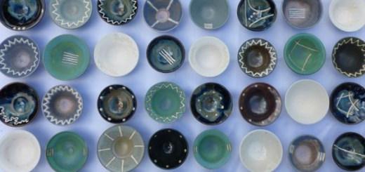 500 Stoneware Pots © Kevin Green