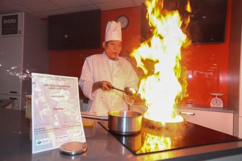 Top Swar, of Gurkha Chef, Newton Abbot
