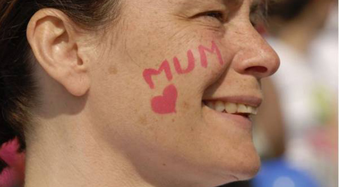 Race for Life Mum