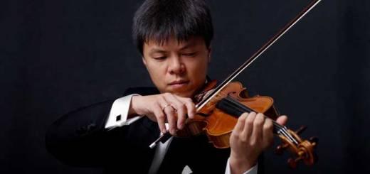 Virtuoso violinist Leland Chen. Courtesy of Wolf Marloh.