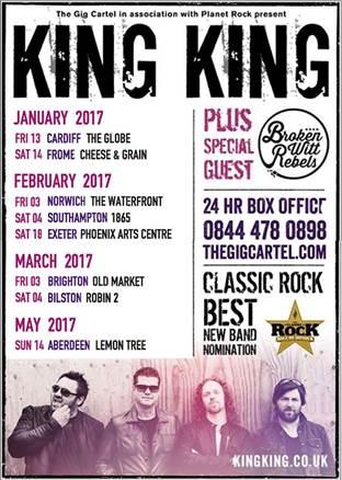 King Kong tour dates