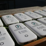 Batter chargers from Innovate Energy. Courtesy of Innovate Energy