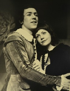 Robert Lindsey in School for Wives, 1972. Photo courtesy of Nicholas Toyne