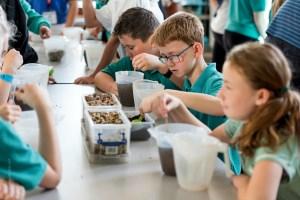 Water workshop at Stoke Hill school