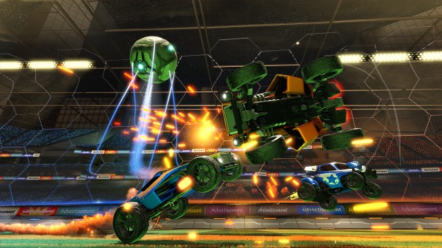 supersonic acrobatic rocket powered battle cars, battle car soccer, soccer ps4 games, psyonix studios, super battle rc car soccer, soccer battle cars,
