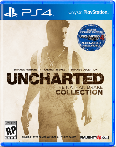 uncharted naughty dog collection, the nathan drake collection, uncharted remastered, ps4 uncharted,