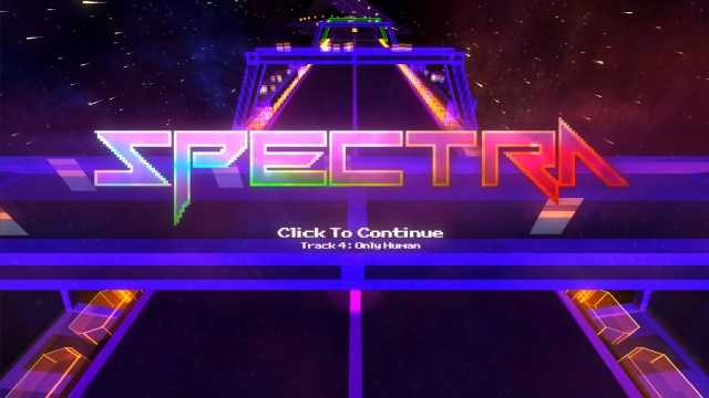 spectra, chiptunes racer, racing game, steam, pc, xbox one,