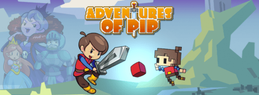 Adventure of Pip, Adventures of pip, tic toc games, ps4 platformers, platforming video games,