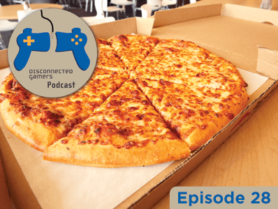 gaming podcast, pizza, dominos, thin crust, deep dish, playstation 4,