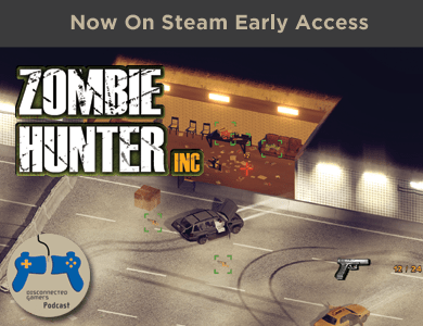 zombie hunter inc, maya gameworks, steam early access, steam pc gaming, zombie games, wave shooters,