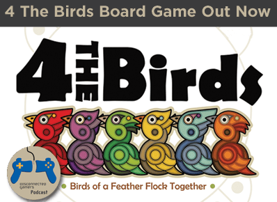 4 the birds, for the birds, kickstarter board games, board games for family, fun board games, kids board games,