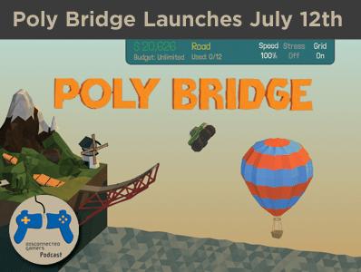 poly bridge, dry cactus games, steam early access, bridge building games, engineering games, polybridge, bridge sim games,