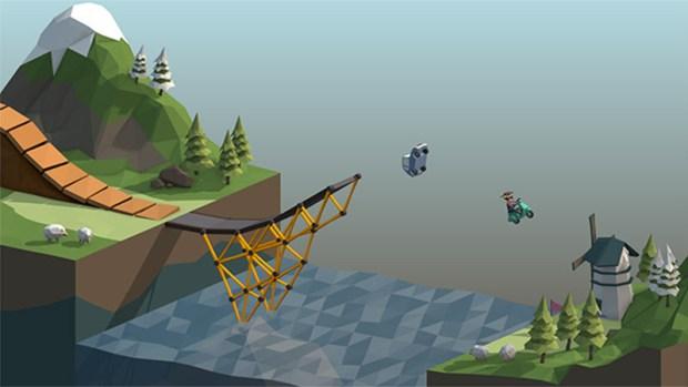 polybridge game, poly bridge, poly design game, twitch integration games, dry cactus, video games,