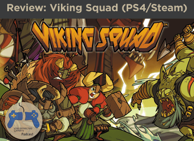 viking squad, playstation 4 games, lane brawler ps4, slick entertainment, steam ps4, viking games, ps4 viking,