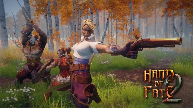 hand of fate 2, hand of fate game, action rpg game, card building rpg game, defiant development, ps4 hand of fate,