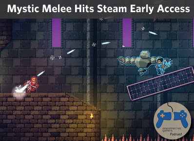 steam early access, mystic melee, platforming games, physics platformer, serenity forge, side scrolling games,