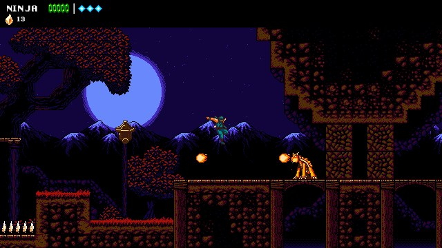 ninja video game, the messenger game, sabotage studios, canadian indie dev, indie games, ninja gaiden styling,