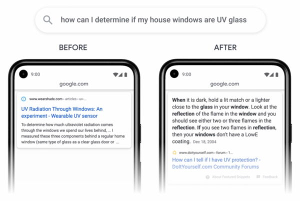 SEO news in February 2021: example of passage indexing in Google