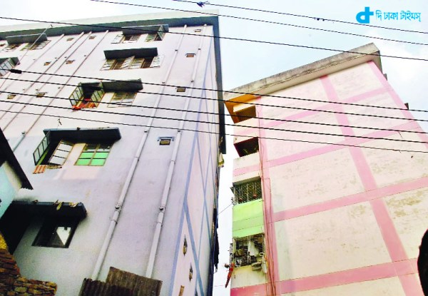 building tilted Chittagong