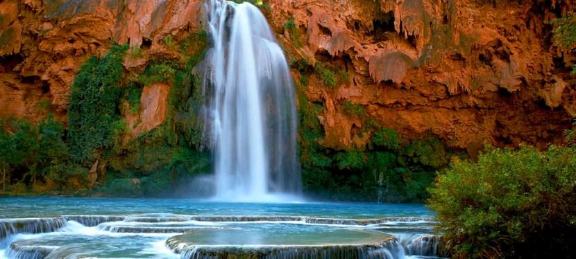 Chasing Waterfalls in Havasupai