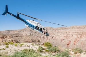 Helicopter to Havasupai