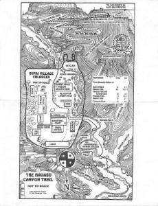 supai trail map