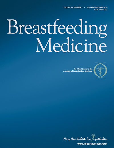Journal: Breastfeeding Medicine