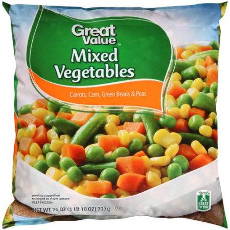 Frozen Vegetable Recall