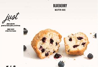 Recall Hampton Creek Blueberry Muffin Mix