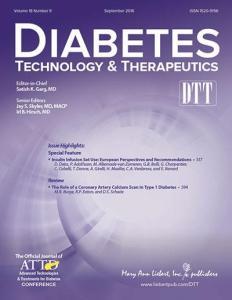 Technologie de diabète & Méthodes thérapeutiques (TNT) est une revue mensuelle de pairs
