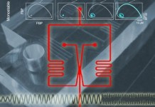 Composite diagram illustrating the microfluidic device used in the study,
