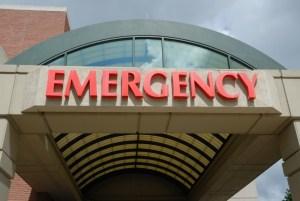 医院急诊室入口 - 糖尿病健康