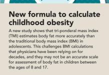New Childhood Obesity Calculation