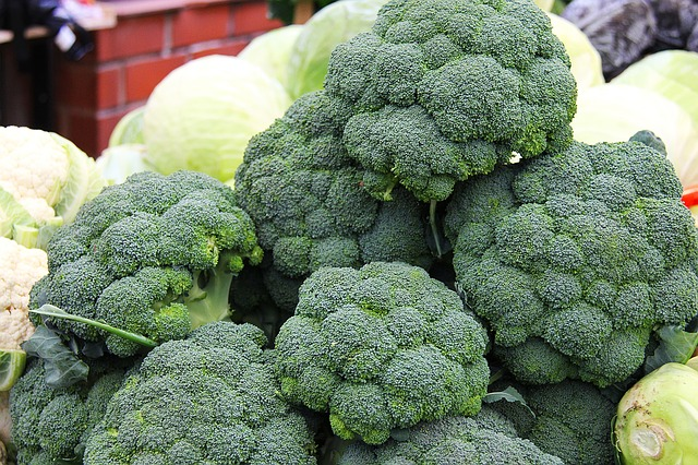 Broccoli at the Farmer's Market - Broccoli as an Anti-Diabetic?