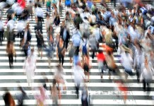 People Walking - Demographics and Diabetes - Care and Diabetes Rates