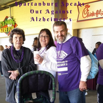 SPARTANBURG SPEAKS OUT AGAINST ALZHEIMER'S!