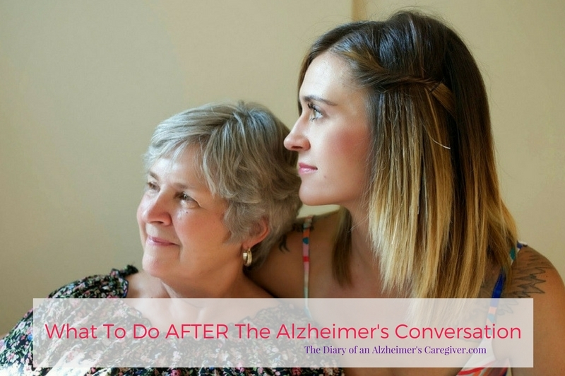 What To Do After The Alz Coversation