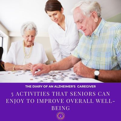 5 Activities that Seniors Can Enjoy To Improve Overall Well-being