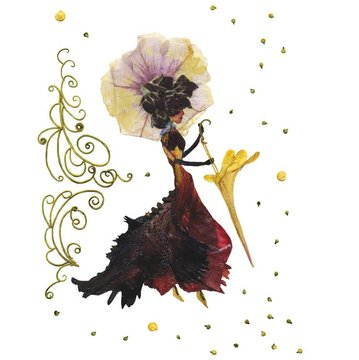 Secesyjna Dama I / Art Nouveau Lady I