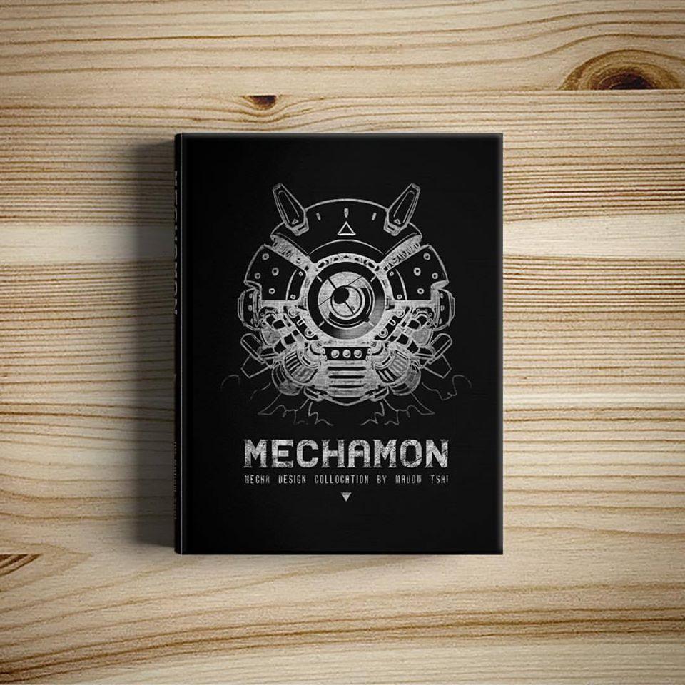 Madow Tsai's Mechamon illustration book volume 1 from kickstarter