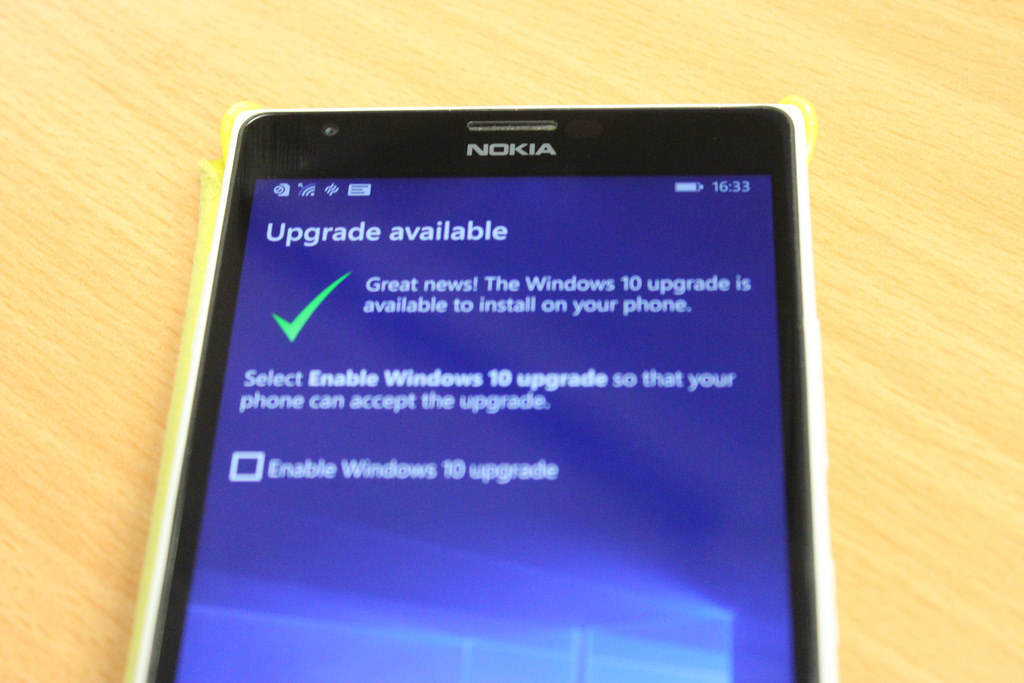 The Windows 10 Mobile upgrade rollout begins