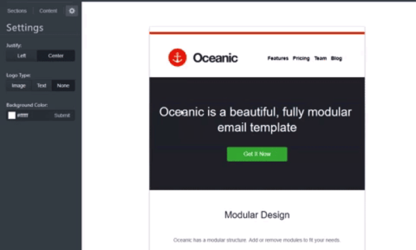 email template sendlane