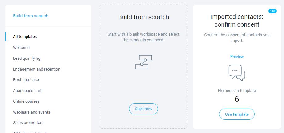 GetResponse-Workflows