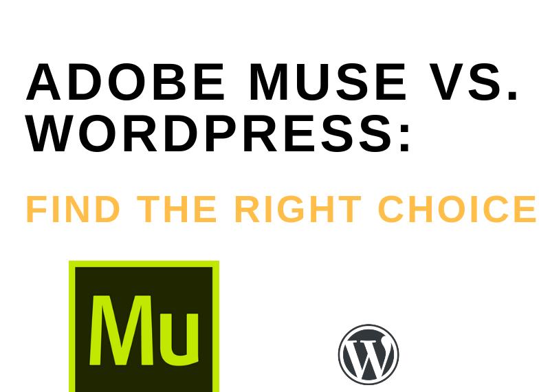 Adobe Muse Vs Wordpress
