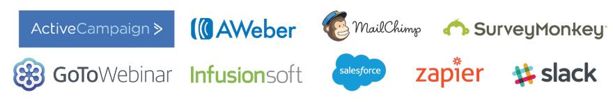 wishpond integration logos